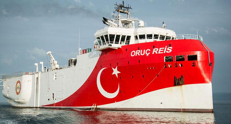 Νέα τουρκική NAVTEX για το Oruc Reis -Περιλαμβάνει και ελληνική υφαλοκρηπίδα