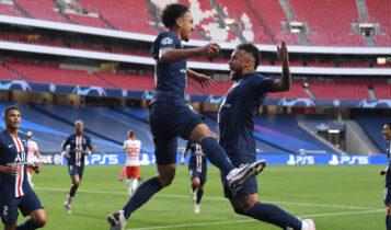 Champions League: Στον τελικό η Παρί που νίκησε 3-0 τη Λειψία