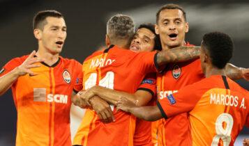 Europa League: Πέρασε στους «4» η Σαχτάρ, νίκησε 4-1 τη Βασιλεία