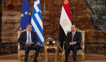 Προεδρία της Αιγύπτου: «Ιστορική εξέλιξη των σχέσεων με την Ελλάδα η υπογραφή ΑΟΖ»