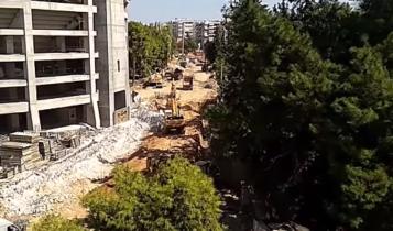 «Αγιά Σοφιά»: «Τρέχουν» οι εργασίες στη Νέα Φιλαδέλφεια (VIDEO)