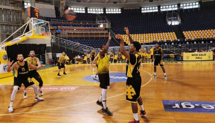 Νίκη με σούπερ Ρογκαβόπουλο για την ΑΕΚ, 66-59 τον Άρη στη Θεσσαλονίκη