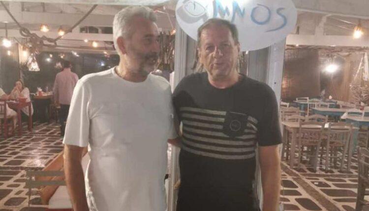 Μάκης Αγγελόπουλος: Κάνει τις διακοπές του στην Νάξο (ΦΩΤΟ)