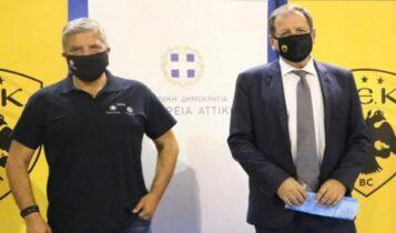 Αγγελόπουλος: «Εναρξη εργασιών για το Final 8, η προβολή της χώρας θα είναι τεράστια»