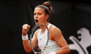 Με το δεξί στο Roland Garros η Σάκκαρη