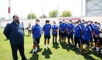 Μαρινάκης: «Τα δυνατά μας με την ΑΕΚ για να κατακτήσουμε το Κύπελλο»
