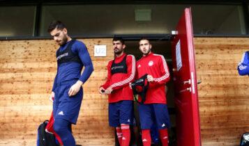 Ολυμπιακός: Πιέζουν Φορτούνης, Μπουχαλάκης και Μασούρας να μην πάνε ξανά στην Εθνική!