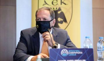 Αγγελόπουλος: «Δεν μας άρεσε η παύλα στο πρωτάθλημα»