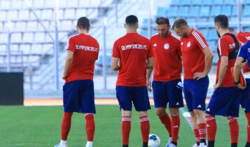 Ολυμπιακός: Η τελευταία προπόνηση πριν από τον τελικό με την ΑΕΚ (VIDEO)