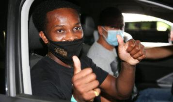 Εικόνες από την άφιξη Λιβάι Γκαρσία για την ΑΕΚ