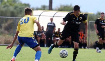 Εικόνες από το ματς της Κ19 Παναιτωλικός-ΑΕΚ