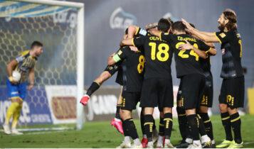 Βαθμολογία Super League: Στο -1 και με ματς λιγότερο από την κορυφή η ΑΕΚ