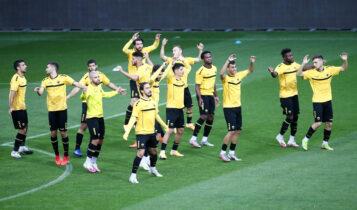 Εικόνες από την προπόνηση της ΑΕΚ στην Ελβετία