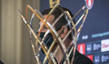 ΑΕΚ: Εικόνες από την συνέντευξη Τύπου για το Final 8 του BCL