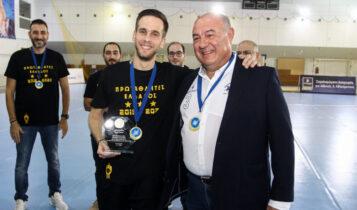 Γεωργιάδης: «Περήφανος που βάλαμε το χάντμπολ στη καρδιά των φίλων της ΑΕΚ»
