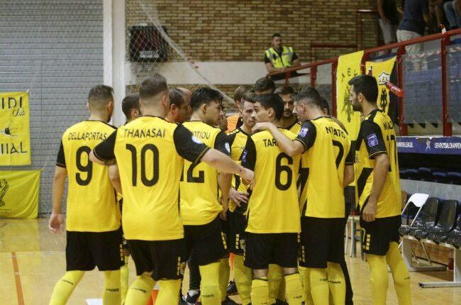 LIVE με εικόνα και ήχο το ματς της ΑΕΚ με το Νέο Ικόνιο στο Futsal