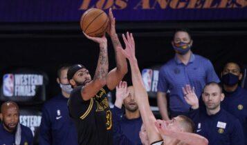 NBA: Οι Λέικερς κέρδισαν (105-103) τους Νάγκετς και έκαναν το 2-0 (VIDEO)