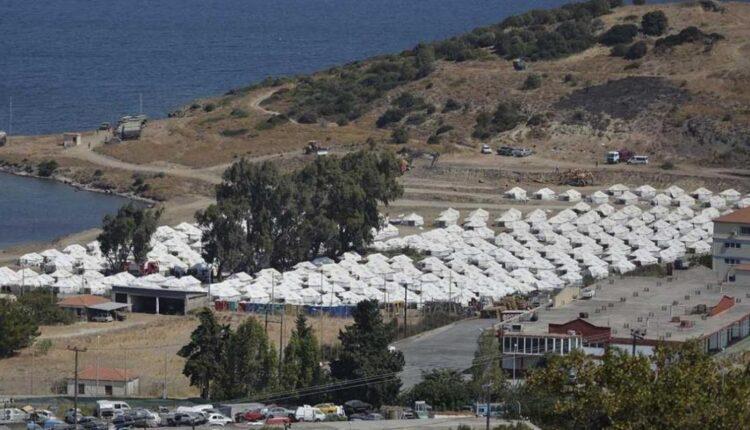 Μυτιλήνη: 1200 μετανάστες μπήκαν στη δομή του Καρά Τεπέ