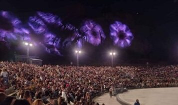 Αντιδράσεις για τον συνωστισμό στο Κατράκειο για τη συναυλία της Νατάσας Θεοδωρίδου (ΦΩΤΟ)
