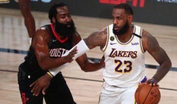 NBA: Οι Λέικερς κέρδισαν 119-96 τους Ρόκετς και προκρίθηκαν στους τελικούς της Περιφέρειας