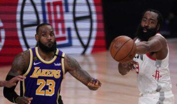 NBA: Ο ΛεΜπρόν έμεινε άποντος στην 4η περίοδο του Game 1 με τους Ρόκετς