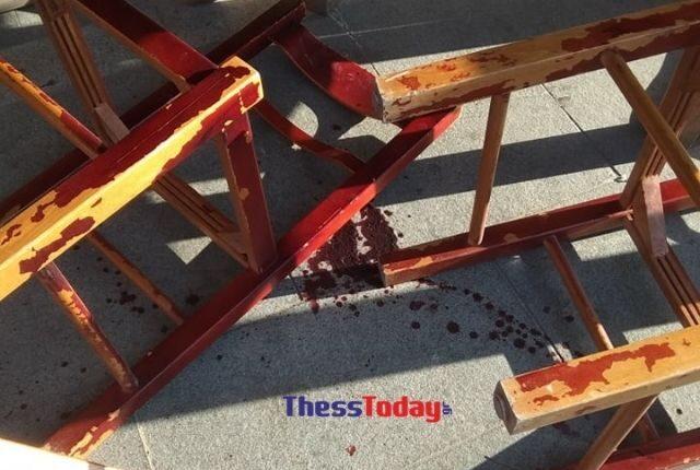 Αιματηρό επεισόδιο ανάμεσα σε οπαδούς στην Ορεστιάδα (ΦΩΤΟ)