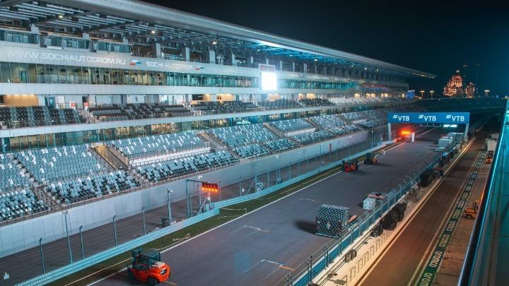 Με 30.000 φιλάθλους το Grand Prix της F1 στο Σότσι