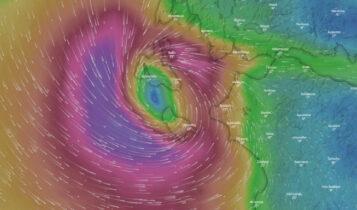 Κακοκαιρία «Ιανός»: Δραματική νύχτα για Ζάκυνθο, Κεφαλονιά, Ιθάκη -Aνεμοι 10 μποφόρ, αλλάζει πορεία ο κυκλώνας