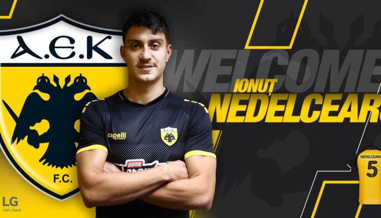 Επίσημο: Παίκτης της ΑΕΚ ο Νεντελτσεάρου! (VIDEO)