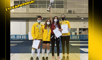 ΑΕΚ: Πρωταθλήτρια Ελλάδος Γυναικών στην ξιφασκία