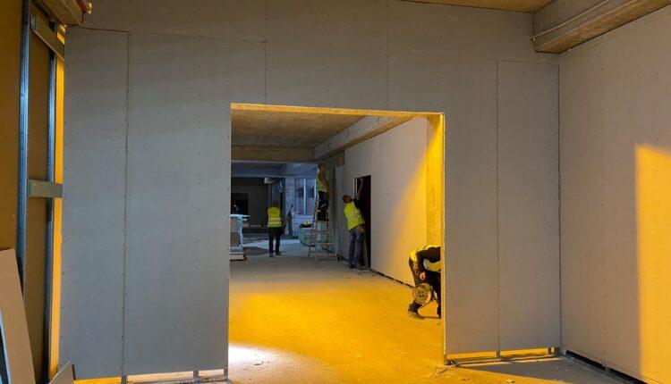 «Αγιά Σοφιά»: Εικόνες από την διαμόρφωση εσωτερικών χώρων στο γήπεδο της ΑΕΚ