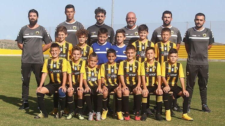 ΑΕΚ Κ11-10: Ισοπαλία (4-4) με τη Δάφνη Παλαιού Φαλήρου