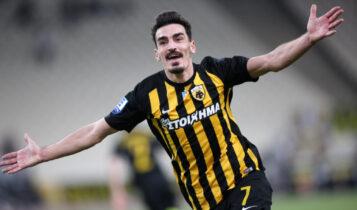 Χριστοδουλόπουλος: «Το καλύτερο γκολ της καριέρας μου αυτό στο ΑΕΚ-Ολυμπιακός 3-2» (VIDEO)