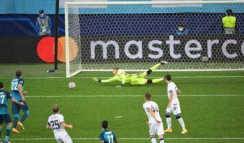 Champions League: Η Μπριζ ξέρανε την Ζενίτ στο 90+4'