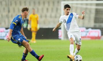 Εθνική Ομάδα: «Κόλλησε» στο 0-0 με το Κόσοβο -Επαιξαν βασικοί Μάνταλος, Σβάρνας