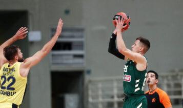 Euroleague: Ο Παναθηναϊκός κέρδισε με 82-68 την Φενέρ στο ΟΑΚΑ
