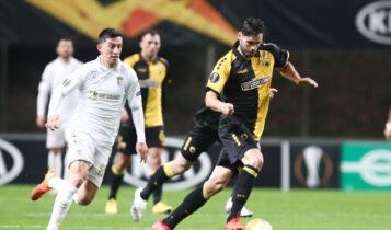Europa League: Η βαθμολογία στον όμιλο της ΑΕΚ