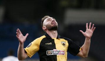 Τάνκοβιτς: Το πρώτο γκολ του με την φανέλα της ΑΕΚ