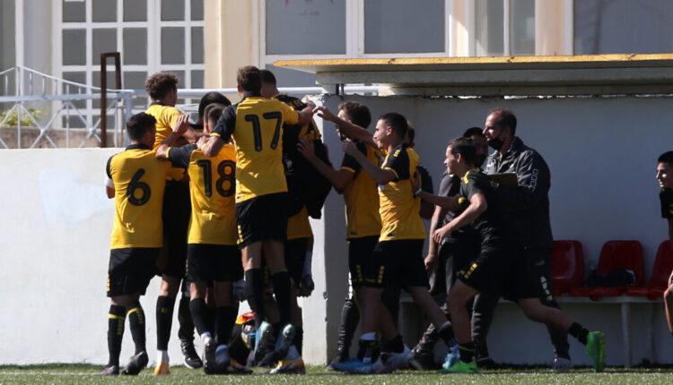 Εικόνες από το ματς της Κ19 ΑΕΚ-ΟΦΗ