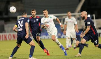 Super League: Πρώτη νίκη για τον Παναθηναϊκό, 2-0 την Λαμία
