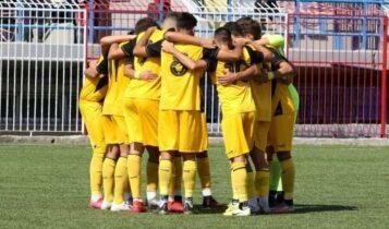 ΑΕΚ Κ19: Ισόπαλη (0-0) με τον Ατρόμητο