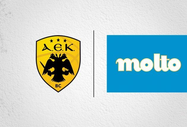 ΚΑΕ ΑΕΚ: Εναρξη πενταετούς χορηγικής συνεργασίας με την Chipita και Molto