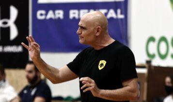 Αρσενιάδης: «Αν κερδίζαμε το πρώτο σετ ίσως το σκορ να ήταν αντίστροφο»