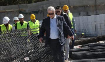 Μελισσανίδης: Επιθεώρησε την «Αγιά Σοφιά-OPAP ARENA» (VIDEO)
