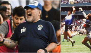 Μαραντόνα: «Για τα 60α μου γενέθλια, θέλω ένα γκολ στους Αγγλους με το δεξί μου χέρι»