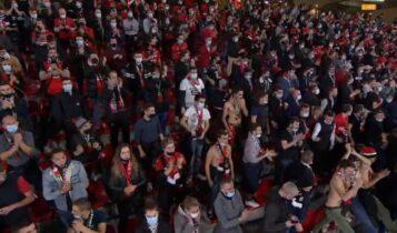 Champions League: Ερευνα της UEFA για τους 5.000 οπαδούς στο ματς της Ρεν