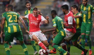 Μπράγκα: Ανετο 4-0 κόντρα στην Τοντέλα (VIDEO)