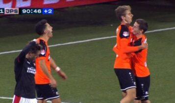 Ιατρούδης: Ντεμπούτο με γκολ στην Φόλενταμ (VIDEO)