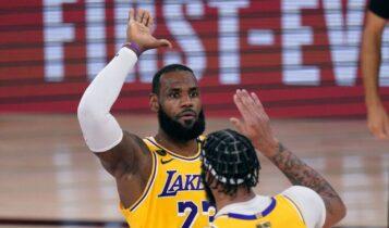 NBA: Ανετο 2-0 των Λέικερς - Κέρδισαν με 124-114 τους Χιτ