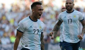 Λαουτάρο: Ο πρώτος εκτός Μέσι που σκόραρε για την Αργεντινή μετά από 7,5 ματς